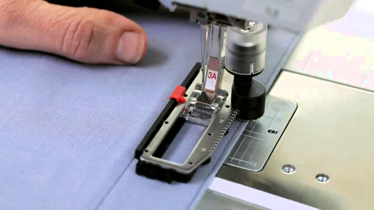 Cómo cambiar el prensatelas de tu máquina
