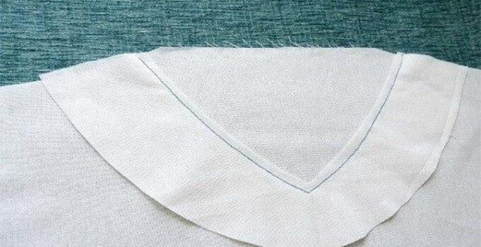 Como coser el cuello de una blusa paso a paso