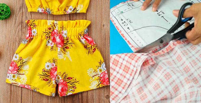 Cómo coser pantalones cortos de mujer paso a paso