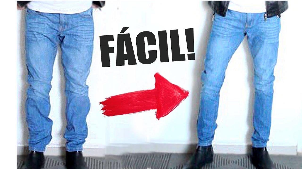 Cómo hacer pantalones más estrechos en la pierna