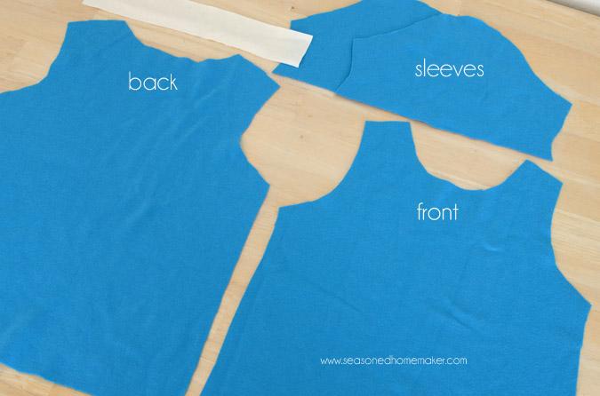 Cómo coser una camisa de punto con patrones