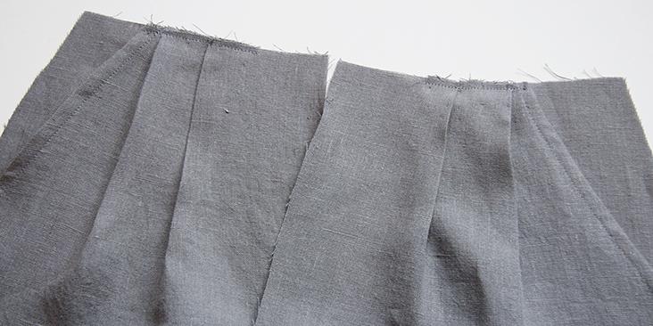 Como hacer un short plisado desde cero con patrón