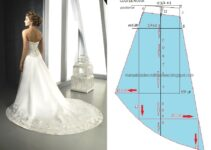 Como hacer un vestido de novia con su patrón
