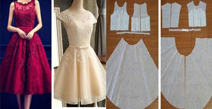 Haz un vestido corte princesa con patrones